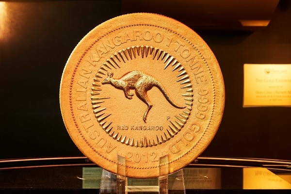 World's Largest Gold Coin On Display At NYSE For One Day Only