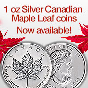 1oz Maple Leafs