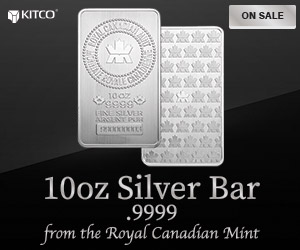 10oz Silver RCM Bar