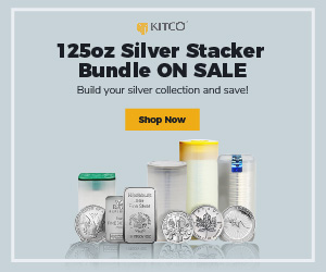 125 oz Silver Stacker Bundle