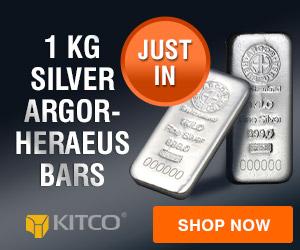 1 kg Silver Argor-Heraeus Bar