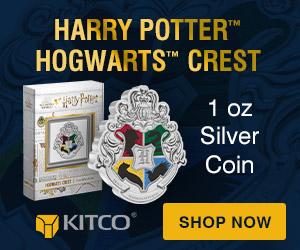 1 oz Silver Harry Potter