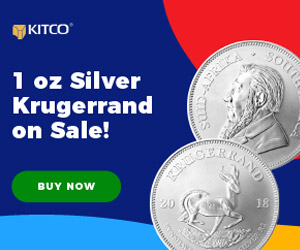 1 oz Silver Krugerrand