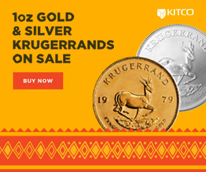 1 oz Gold and Silver Krugerrands