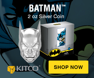 Batman Mask Shaped Coin