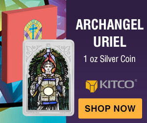 1 oz Silver Coin - Archangel- Uriel