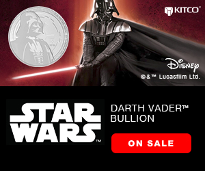 Star Wars Darth Vader Coin