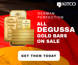 Degussa Gold Bars