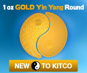 1 oz Pure Gold Yin Yang