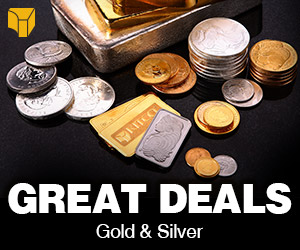 Great Deals on Selected Gold & Silver