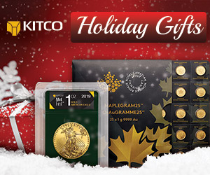 Holiday Promo Gold Bullion