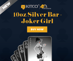 10 oz Silver Bar - Joker Girl