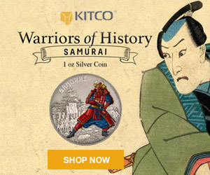Warriors of History-Samurai Coin