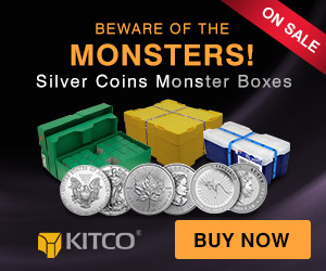 Silver Monster Boxes