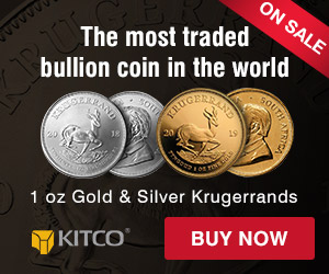 1 oz Gold & Silver Krugerrands