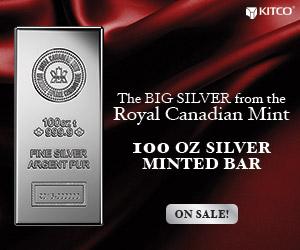 100 oz Silver RCM Bars