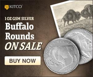 1 oz Silver GSM Buffalo Rounds