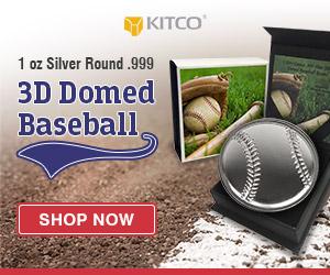 1 oz Silver Round - Baseball