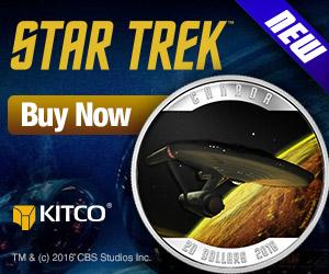Star Trek Silver Coin