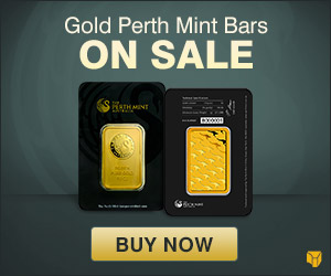 10 oz Perth Mint Gold Bar