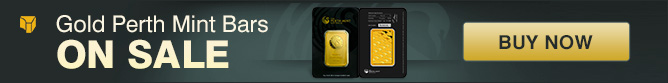 10 oz Gold Perth Mint Bars