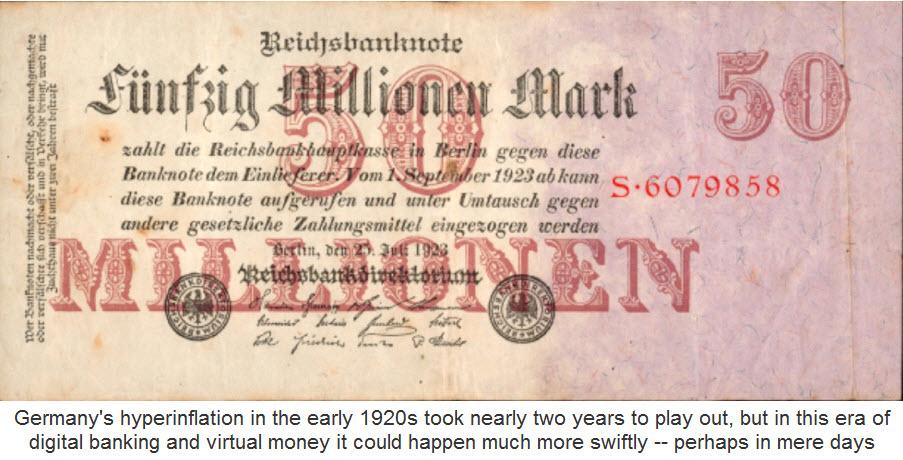 Reichsmark Inflation