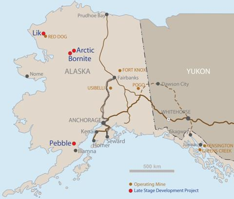 A Field Tour Of Alaskan Base Metals Deposits Kitco Commentary