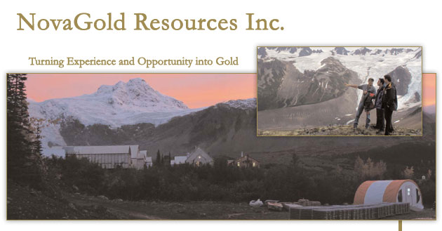 Novagold Resources Inc Nyse Amex Tsx Ng Is A Growth Company Focused On Gold Exploration And Development In Alaska British Columbia Owns
