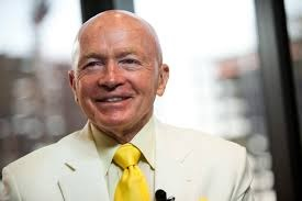 Mark Mobius, executive chairman of Templeton Emerging Markets Group, sees gold above $1,400 in 2017