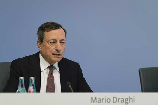Dovish Draghi Comments Drive Gold Prices