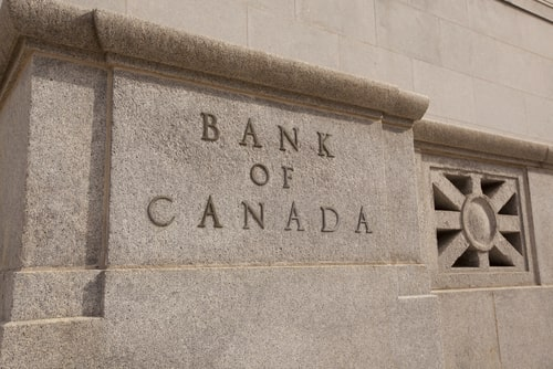 Bank of Canada rate gold