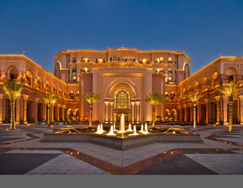 Emirate Palace Splashes Out $130K A Year On Its Gold Ceiling