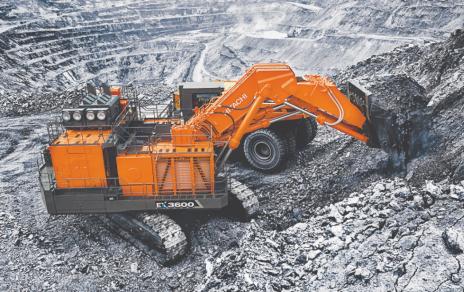 Hitachi Unveils EX3600-7 Excavator