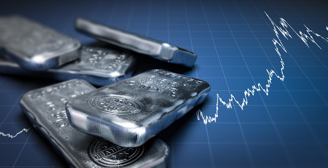 Global growth fears push silver prices down 2% 1