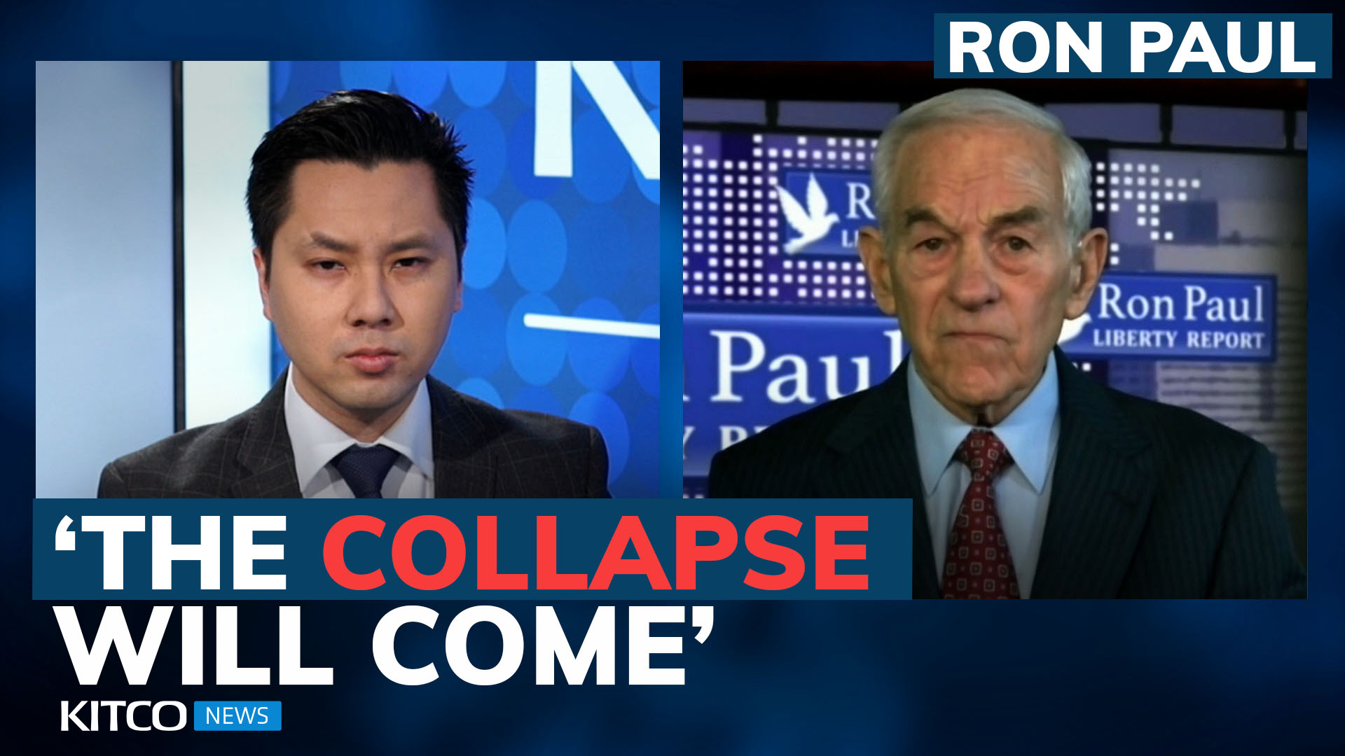 Ron Paul on the next economic collapse, America's future, and universal basic income