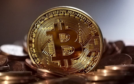 Gold Silber Bitcoin Marktkappe