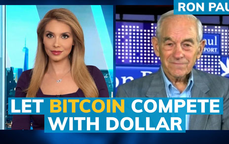 Ron Paul: Bitcoin should be legalized as money, let it compete with Dollar