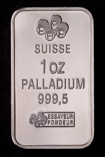Palladium Jumps On Auto Sector Sentiment