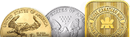 Buy/Sell Gold and Silver Bullion Coins and Bars